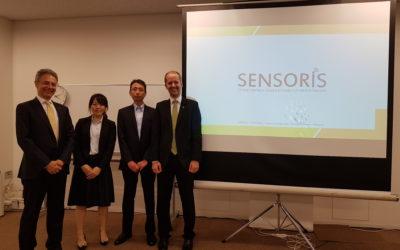 SENSORIS presented to ITS Japan members