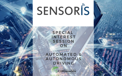 Join SENSORIS at the 2018 ITS World Congress