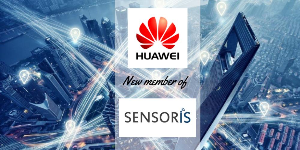 SENSORIS welcomes its first member of 2019: Huawei