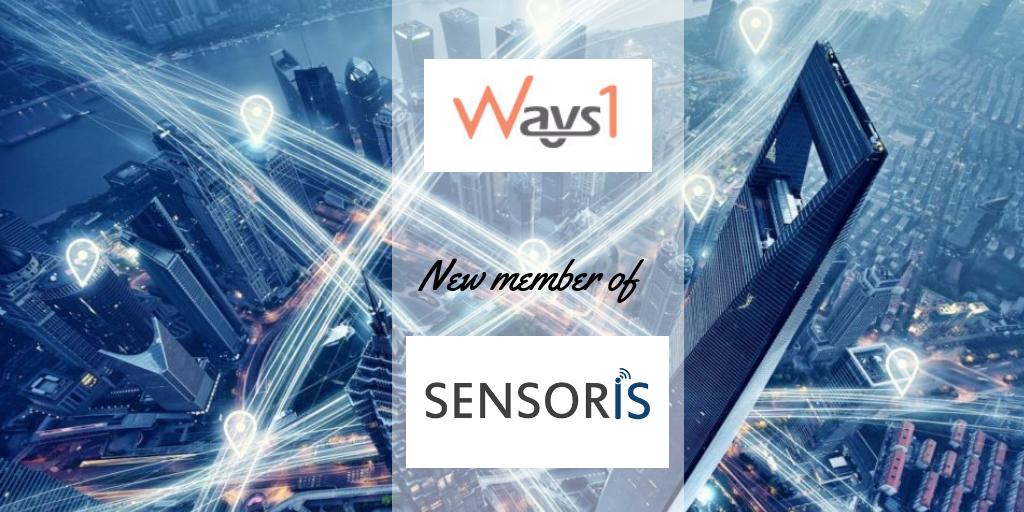 SENSORIS welcomes a new Member: Ways1 Inc.