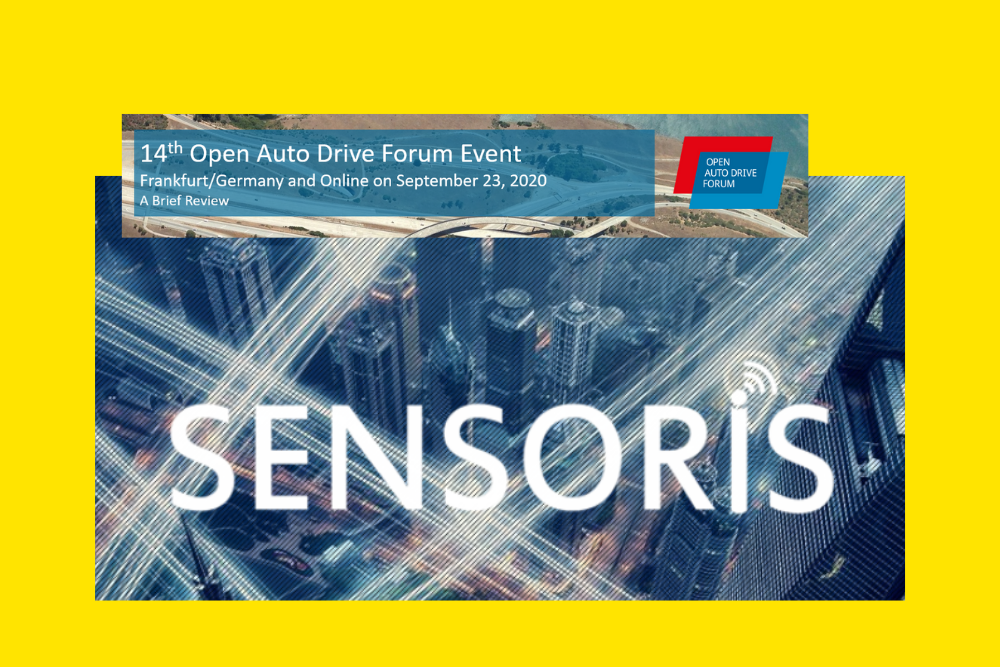 SENSORIS participates in the 14th OADF